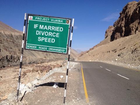 'If married, divorce speed' belerende woorden van BRO