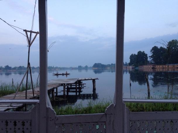 Einddoel Srinagar bereikt = mezelf verwennen met een overnachting op woonboot Zebra