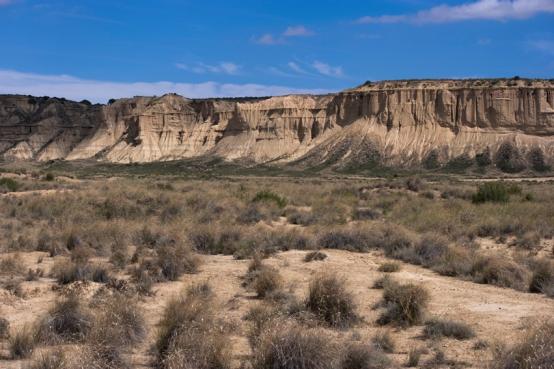 De helft van het nationaal park was niet toegankelijk door opnames van een Spaanse Western
