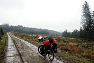 Rain and detours, my two strengths #Belgium