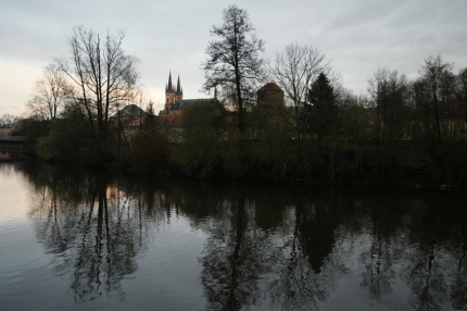 Cheb is really fairylike. I entered the town after a big rainfall. Birds started singing, sun was at its best and the park was lovely #CzechRepublic