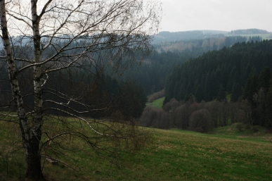 The weather wasn't that good, but the view was great #CzechRepublic