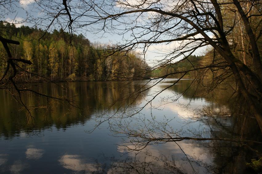 Ooh, and nice lakes too #ČeskýRáj #CzechRepublic