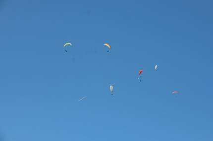 Kozakov is the second best spot in Czech Republic for paragliding #CzechRepublic