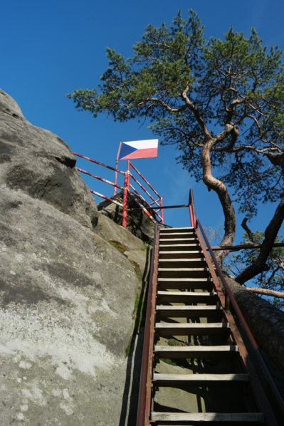 It was rea-eally steep #Broumovsko #CzechRepublic