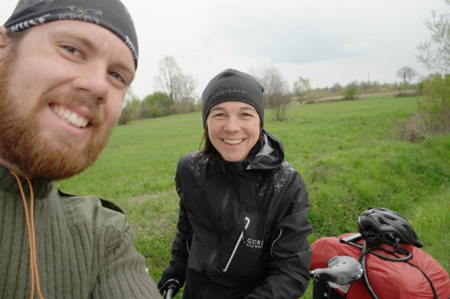 Meet cyclist André, the Big Crazy Swede, as he calls himself on the world wide web. He is on his way to Australia. I've met him just when I arrived in Birkenau, when I still was a in shock by seeing the huge concentration camp… PS: And I thought that I was carrying too much luggage… #Poland