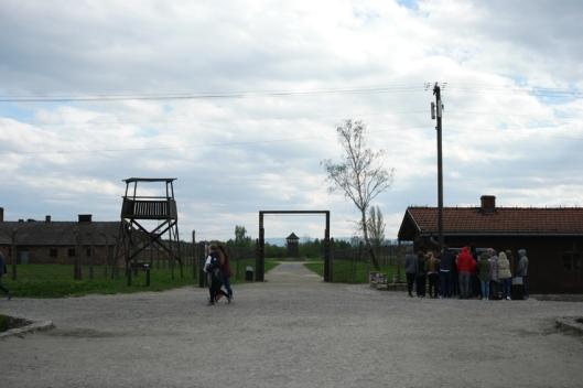 Entering Birkenau #Poland