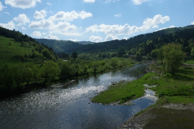 Cycling along the river doesn't mean it's flat #Slovakia