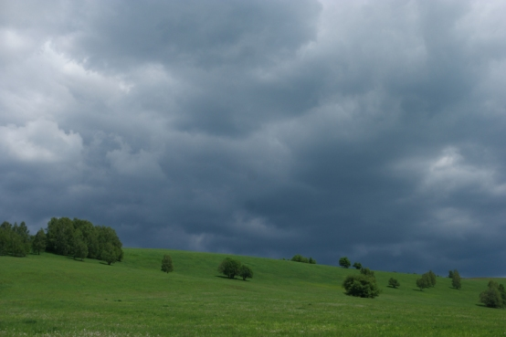 Not only in Poland rain clouds are playing games with me #Slovakia