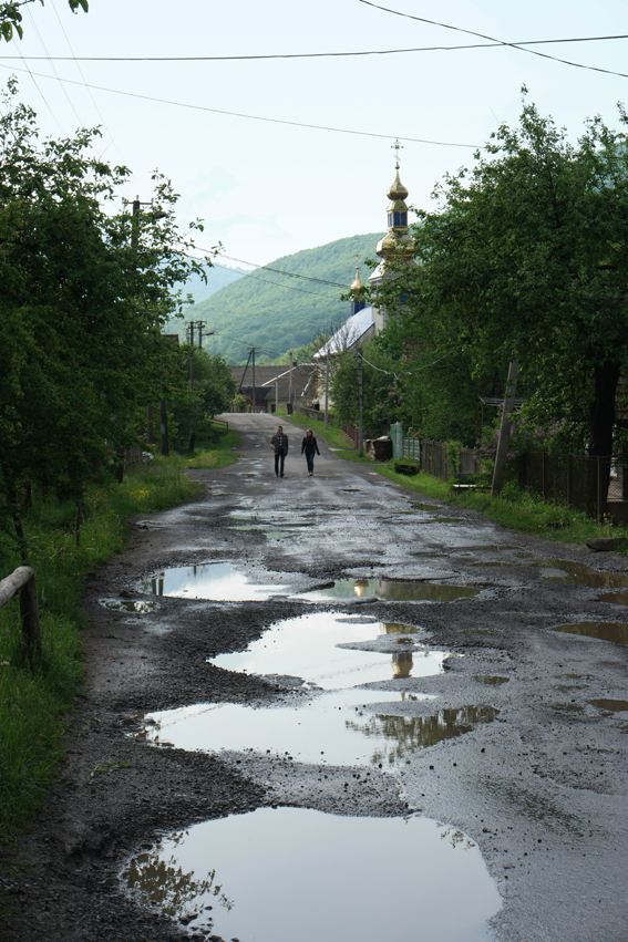 Just an ordinary road #Ukraine