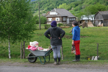 On the countryside… The Bugaboo from #Ukraine