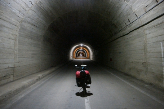 Let's cycle the tunnel. With its 887 meter it is Romania's longest and highest tunnel #Transfăgărășan #Romania