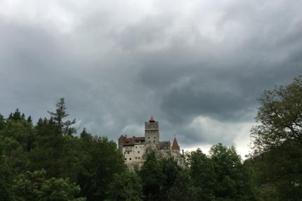 The castle of Vlad Dracul #Bran #Romania