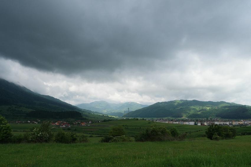 I felt sad I had to leave the mountains #Romania