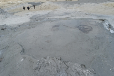 Mud volcanoes in Berca. Small but satisfying #Romania