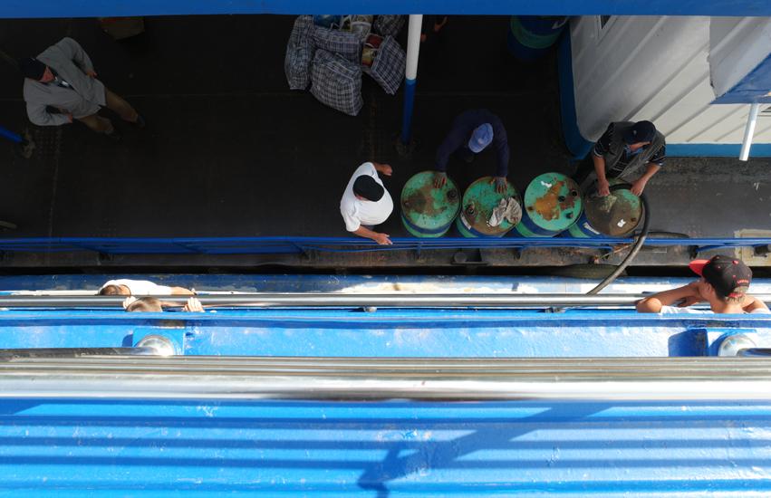 On the boat from Tulcea to Sulina #Danube Delta #Sulina #Romania