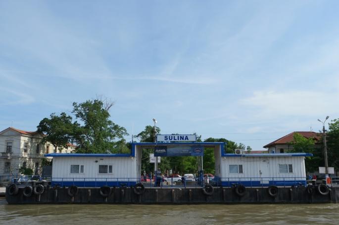 Arrival at Sulina #Danube Delta #Romania
