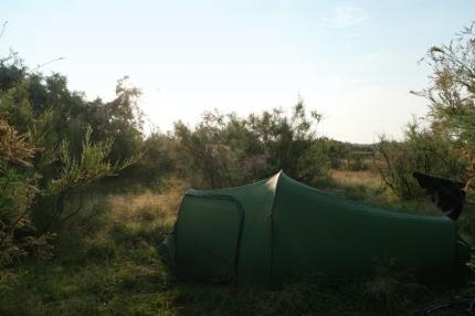 Camping in the dunes #Danube Delta #Sulina #Romania