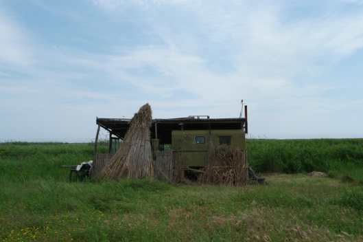 Shelter for fishermen #Danube Delta #Romania