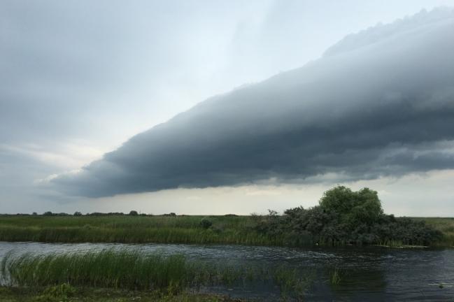 Wonderful cloud formations #Danube Delta #Romania