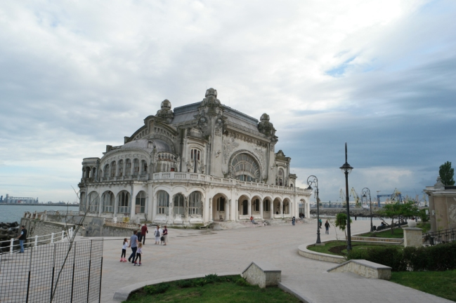 I especially visited Constanța to see its lovely casino #Constanța #Romania
