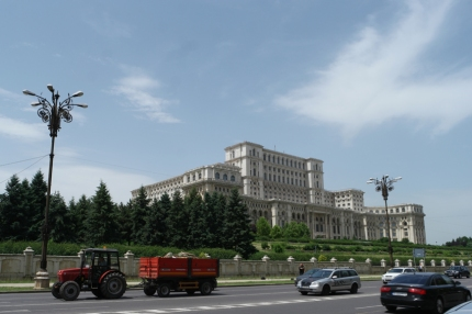 The Palace of the Parliament is the second largest administrative building in the world #Bucharest #Romania