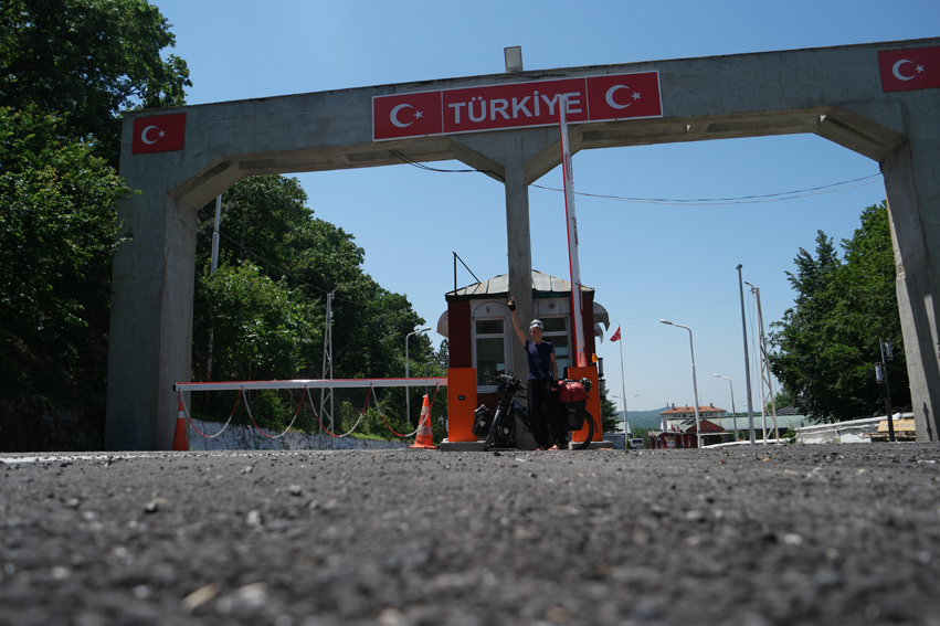 Finally … I reached Turkey, it felt so good! I was looking forward to cycle in this country for many years #Turkey