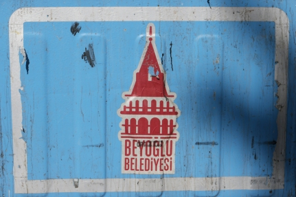Nice logo from the municipality of Beyoglu #Turkey