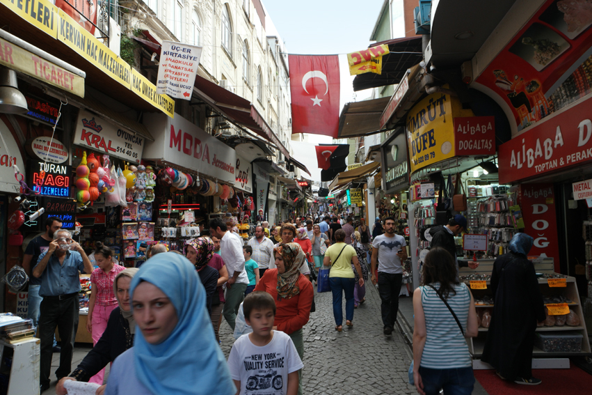 One of the bazaars #Istanbul #Turkey