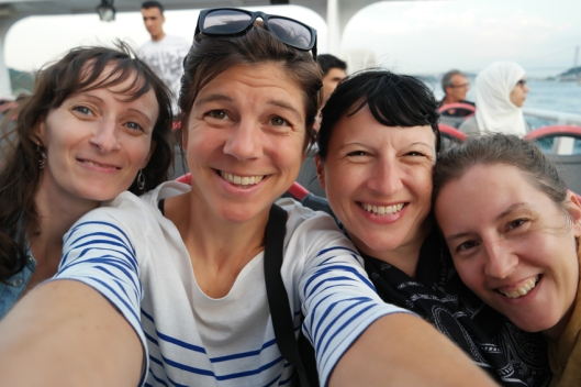 I love you girls, from Ghent to Taiwan and back and again and further #bff #Istanbul #Turkey