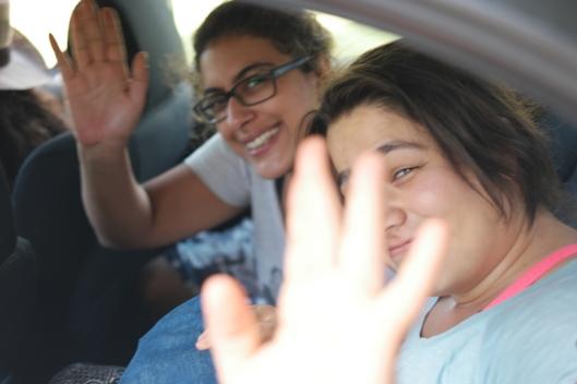 I wasn't happy to see Gözde and Merve leave the farm. Great girls from Ankara #NarköyOrganicFarm #Kerpe #Turkey