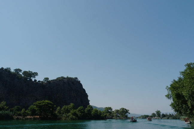It felt like being in south east Asia #Dalyan #Turkey