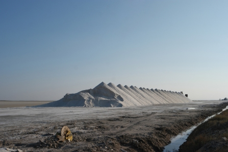 Salt! It won't be far anymore #TuzGölü #Turkey