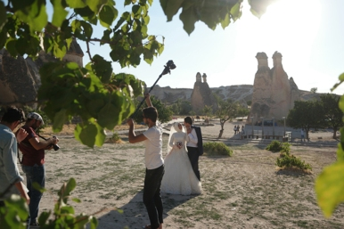 A popular spot for love birds #Cappadocia #Turkey