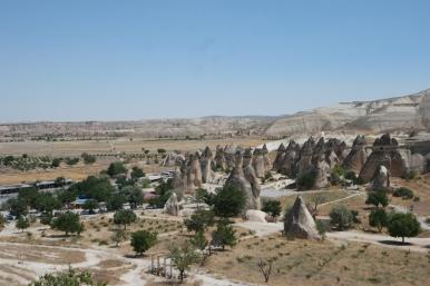 And also in between big mushrooms #Cappadocia #Turkey