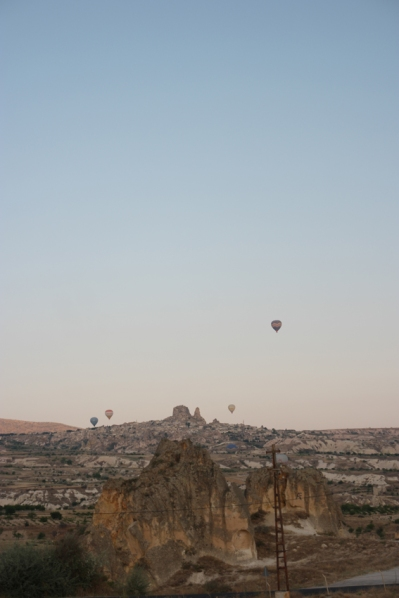 View from the camping #Cappadocia #Turkey