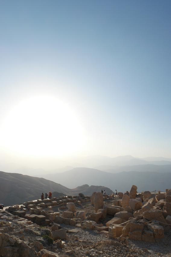 Enjoying sunset on #Nemrut #Turkey