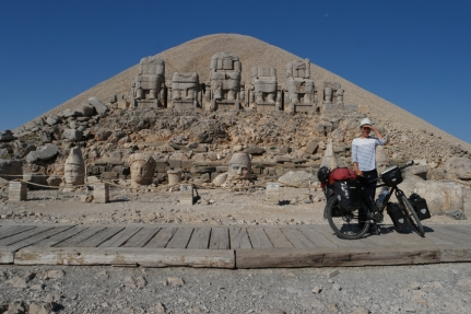 Yeah, I made it to the top #Nemrut #Turkey