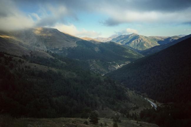 My last mountain pass in Turkey… I thought #not #Turkey