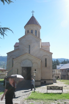 On the road to Kutaisi… Although I'm not fond of churches, I liked the ones in Georgia and Armenia a lot #Georgia