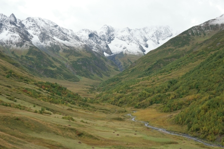 I didn't complain about the scenery though #Svaneti #Georgia