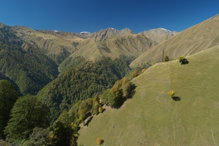 Just like Svaneti region, Tusheti is a winner in overwhelming scenery too #Georgia