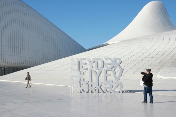 #Heydar Aliyev Center #Baku #Azerbaijan