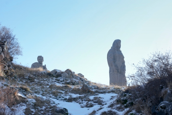 Sovjet statues are watching me #Armenia