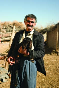 A sweet farmer surprised by seeing me in his abandoned village. Showed me his livestock and invited me for tea and biscuit. Memorable encounters for sure #Iran