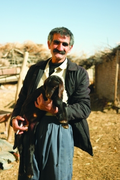 A sweet farmer surprised by seeing me in his abandoned village. Showed me his livestock and invited me for tea and biscuit. Memorable encounter for sure #Iran