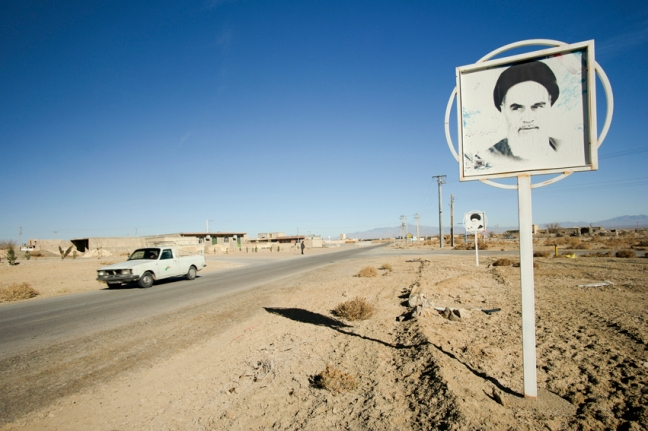 A man that (unfortunately) doesn't need any introduction, omnipresent, even in the smallest villages #Khomeini #Iran