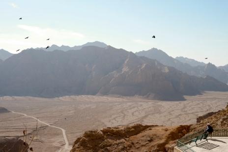 View into the valley #ChakChak #Iran