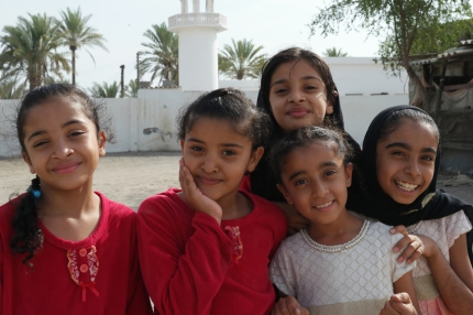 The children I met were the best medicine. Always enthusiastic... laughing, waving, yelling or shouting 'I love you, I love you, I love you'. Just what I needed ;) #Oman