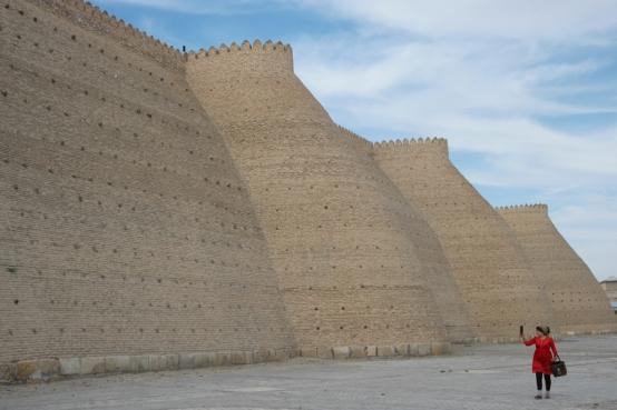 The Ark fortress in Bukhara #uzbekistan